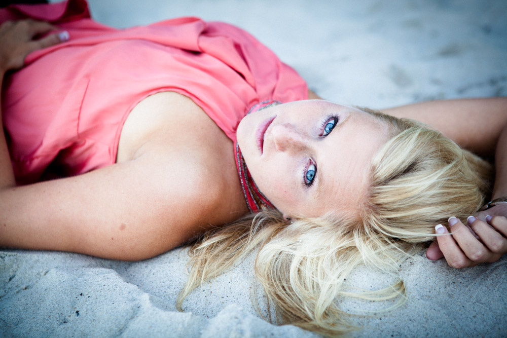 Fotoshooting in Kiel am Strand