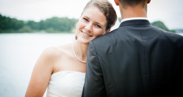 Hochzeitsfotos in Kiel - mit Britta und Matthias