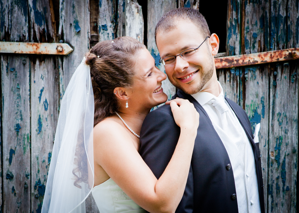 Hochzeitsfotos in Kiel mit Britta und Matthias