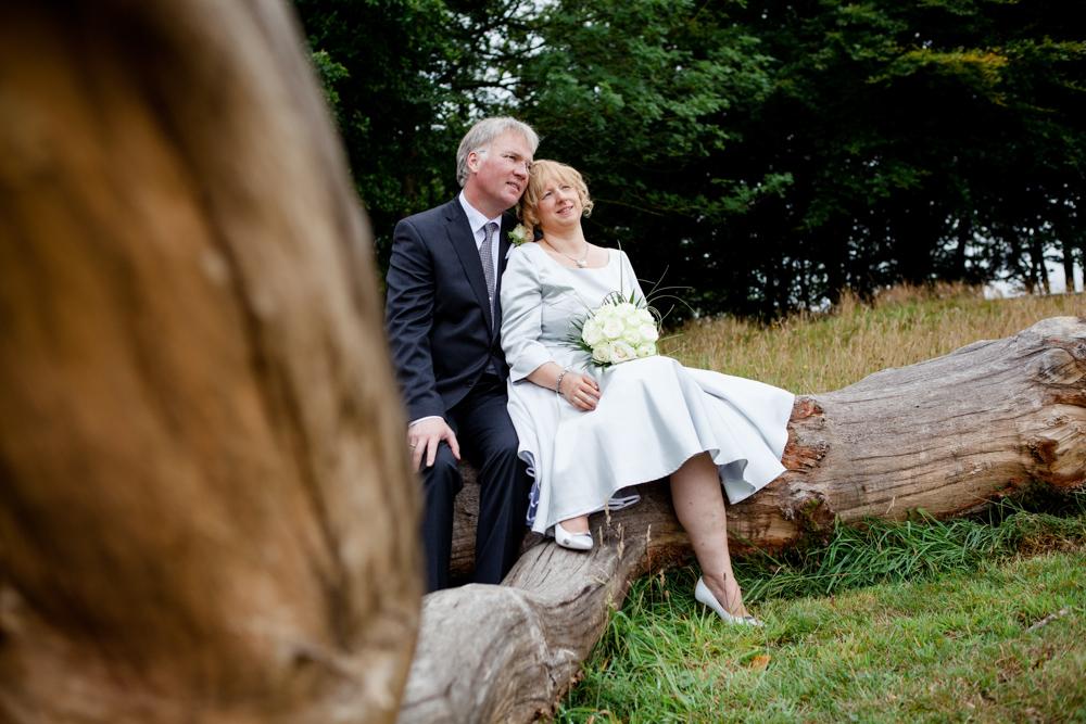 Hochzeitsfotos in der Baumkirche mit Claudia und Arne-6