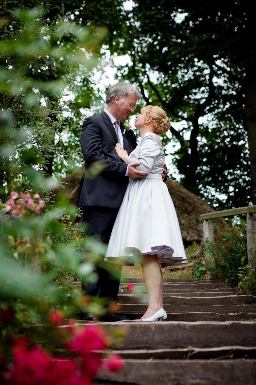 Hochzeitsfotos in der Baumkirche mit Claudia und Arne-7